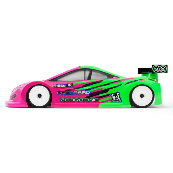 PreoPard 1:10 Touring Car Clear Body 0,5mm