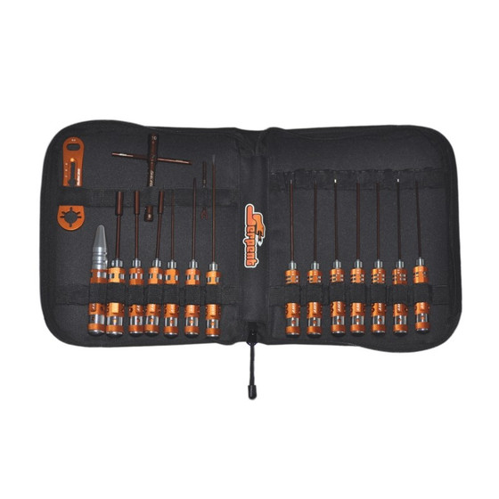 Toolset onroad GP (17pcs) with Tools bag