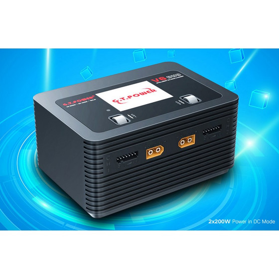V6 Duo Charger AC/DC 16A 2x 200W