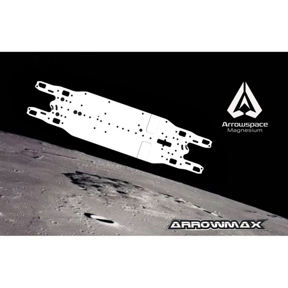 Serpent 4X Chassis Arrowspace Magnesium Stiff
